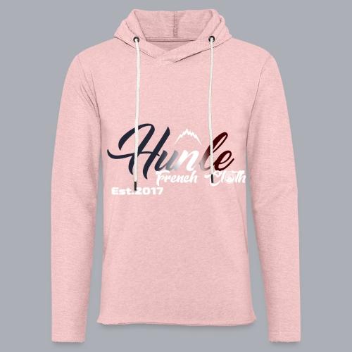 HnL Hunle French n°3 - Sweat-shirt à capuche léger unisexe