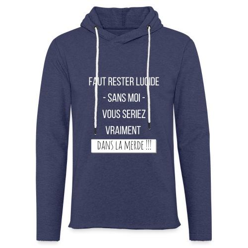 Je suis indispensable ! - Sweat-shirt à capuche léger unisexe
