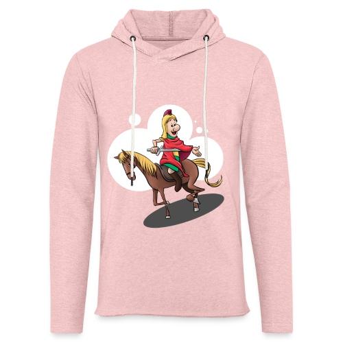 Sankt Martin auf dem Pferd - Leichtes Kapuzensweatshirt Unisex