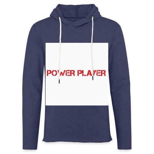 Linea power player - Felpa con cappuccio leggera unisex