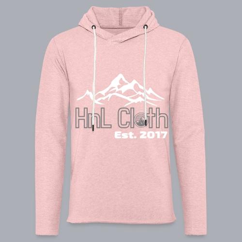 HandL Denim mountain N°2 - Sweat-shirt à capuche léger unisexe