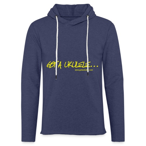 Official Got A Ukulele website t shirt design - Light Unisex Sweatshirt Hoodie