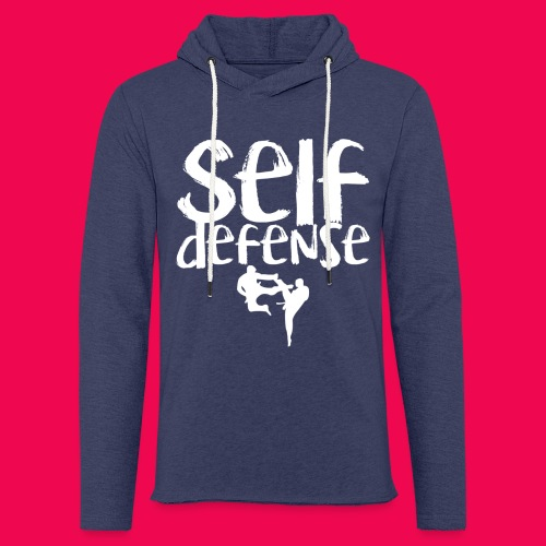 Self Defense 1.0 - Leichtes Kapuzensweatshirt Unisex