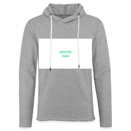LetsTalk ColU - Light Unisex Sweatshirt Hoodie