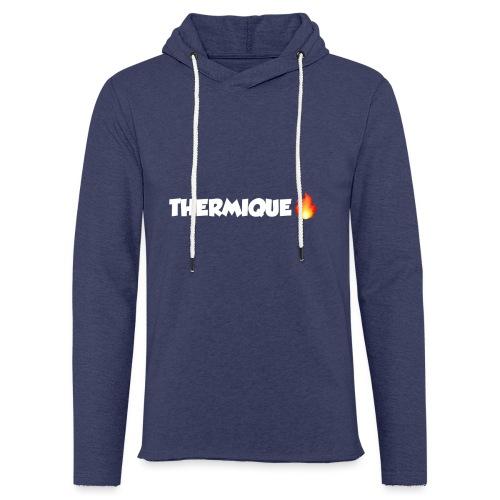 THERMIQUE - Sweat-shirt à capuche léger unisexe