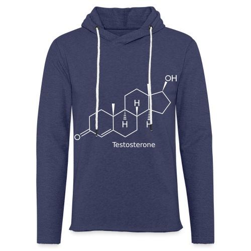 Testosterone - Bodybuilding, Crossfit, Fitness - Leichtes Kapuzensweatshirt Unisex