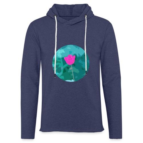 Flower power - Lichte hoodie unisex