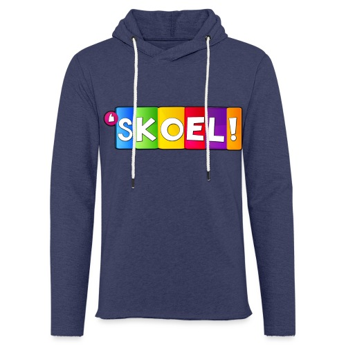 SKOEL merchandise - Lichte hoodie unisex