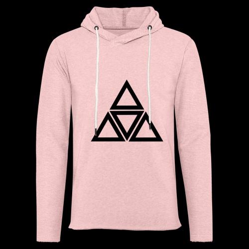 triangle - Felpa con cappuccio leggera unisex