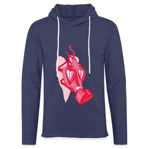 Love stinks - Lichte hoodie unisex