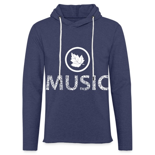 logo bashk music e bardhe - Light Unisex Sweatshirt Hoodie