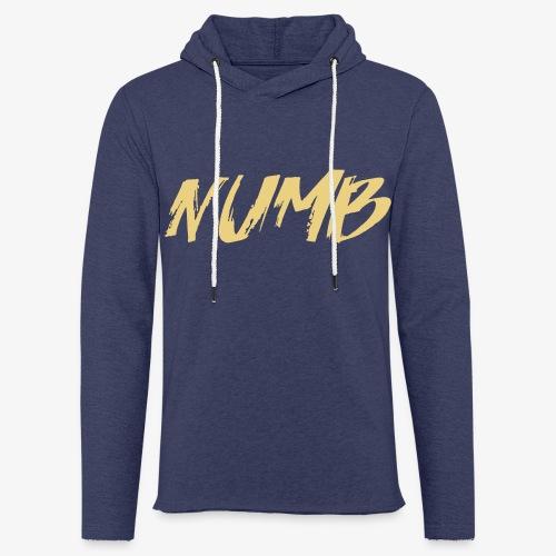 NUMB - Let sweatshirt med hætte, unisex