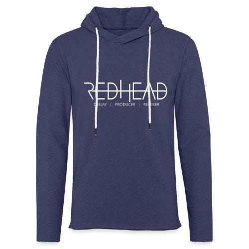 Redhead-Standard [WHITE] - Leichtes Kapuzensweatshirt Unisex