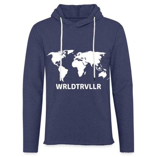Worldtraveller - Leichtes Kapuzensweatshirt Unisex