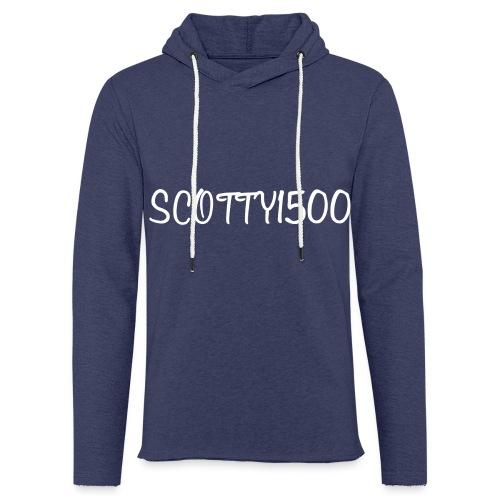 Scotty1500 Hoodie (Black) - Light Unisex Sweatshirt Hoodie