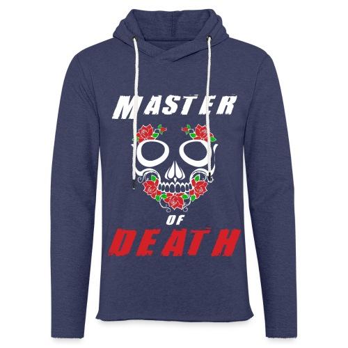 Master of death - white - Lekka bluza z kapturem