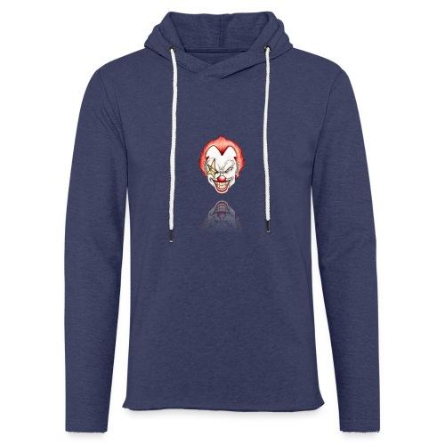 clown-png - Lichte hoodie unisex