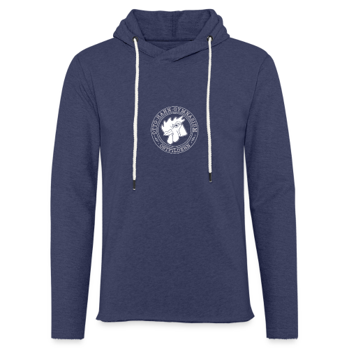 CIRCLE DESIGN - Leichtes Kapuzensweatshirt Unisex