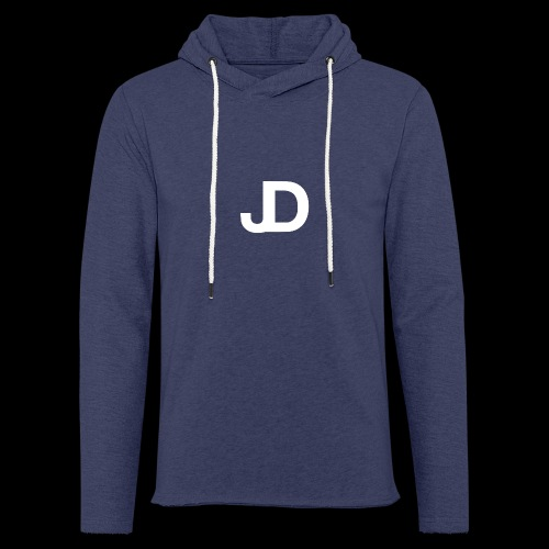 JD logo - Lichte hoodie unisex