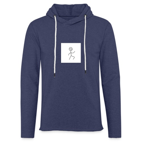 stick man t-shirt dance 1,0 - Let sweatshirt med hætte, unisex