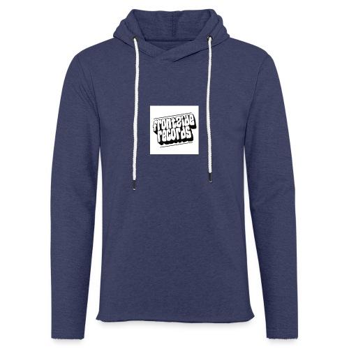 newfrontzidelogo - Let sweatshirt med hætte, unisex