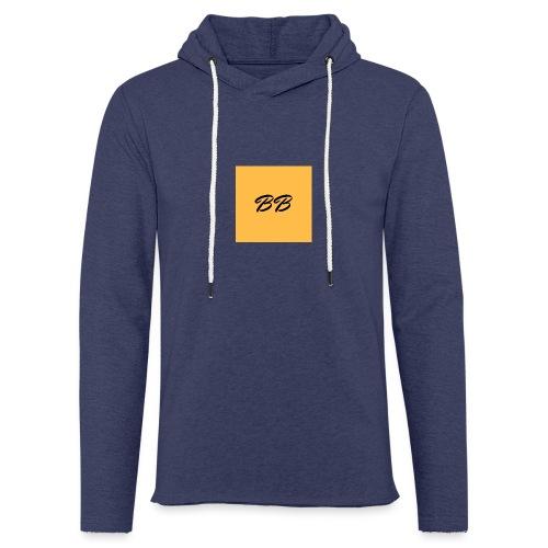 Logo - Let sweatshirt med hætte, unisex