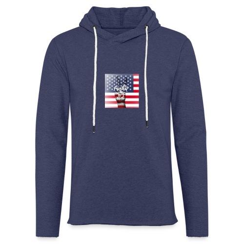 Fresh and Nice America - Leichtes Kapuzensweatshirt Unisex