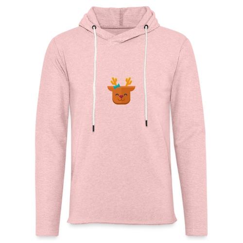 When Deers Smile by EmilyLife® - Light Unisex Sweatshirt Hoodie