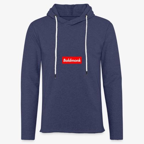 Baldmonk Box Logo - Light Unisex Sweatshirt Hoodie