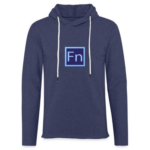 Borraccia falsonome FN - Felpa con cappuccio leggera unisex