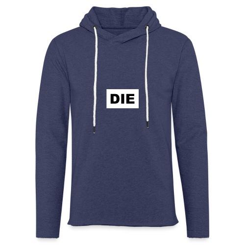 DIE - Lett unisex hette-sweatshirt