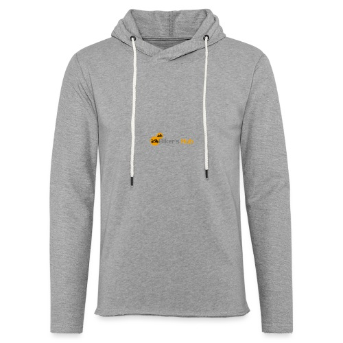 Biker's Hub Small Logo - Light Unisex Sweatshirt Hoodie