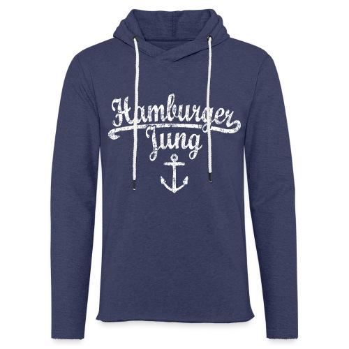 Hamburger Jung Klassik (Vintage Weiss) Hamburg - Leichtes Kapuzensweatshirt Unisex