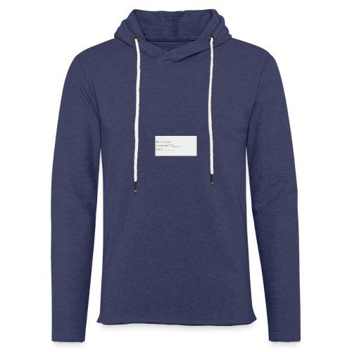 code - Sweat-shirt à capuche léger unisexe