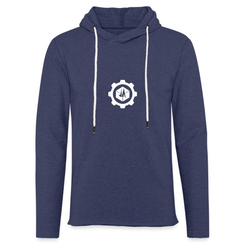 Jebus Adventures Cog White - Light Unisex Sweatshirt Hoodie