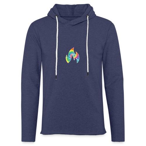 Flaming Logo - Light Unisex Sweatshirt Hoodie
