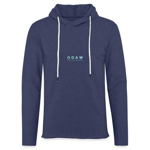GOAW logo - Light Unisex Sweatshirt Hoodie