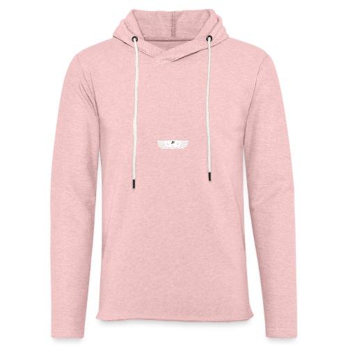 LOGO wit goed png - Lichte hoodie unisex