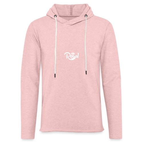 Royal Logo White Edition - Light Unisex Sweatshirt Hoodie