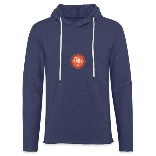Duna Colligere Orange - Lett unisex hette-sweatshirt