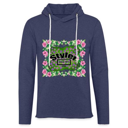 Styler Bloemen Design - Lichte hoodie unisex