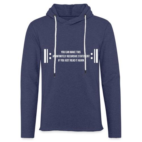 Infinite Recursion - Light Unisex Sweatshirt Hoodie