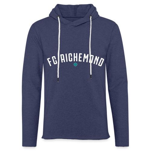fcrichemond-logo-texte-cu - Sweat-shirt à capuche léger unisexe