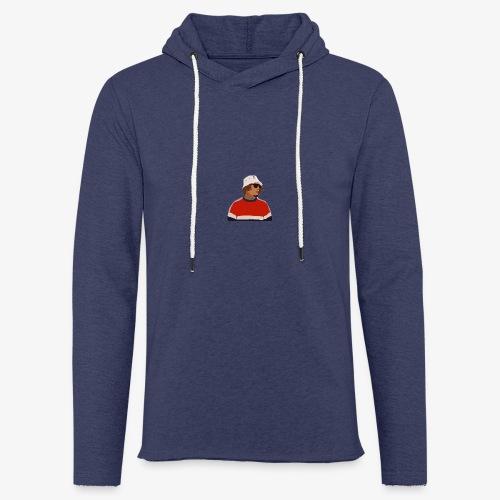 Lorenzo - Sweat-shirt à capuche léger unisexe