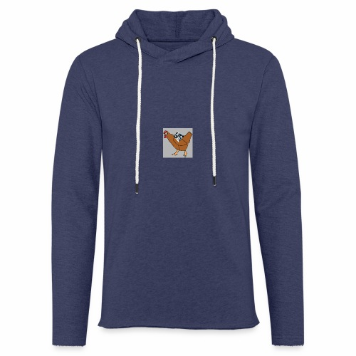 Quad Chicken Logo - Light Unisex Sweatshirt Hoodie