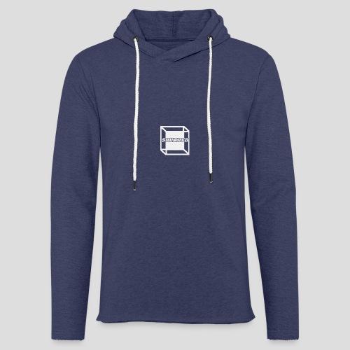 Squared Apparel White Logo - Light Unisex Sweatshirt Hoodie