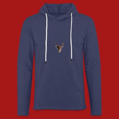 Deer-Head GOLD - Let sweatshirt med hætte, unisex