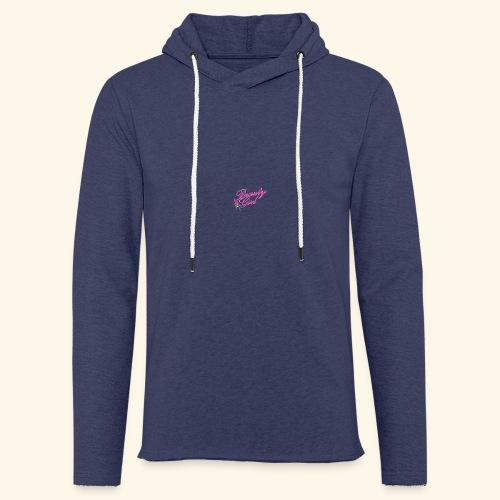 Beauty Girl Ltd logo web medium - Let sweatshirt med hætte, unisex