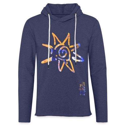myDay SommerSonne - Leichtes Kapuzensweatshirt Unisex