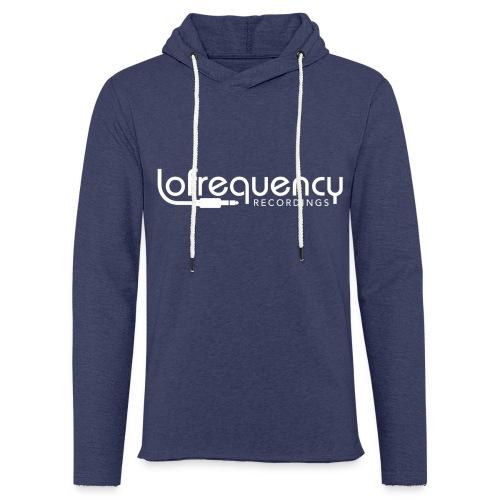 Lofrequency Recordings Classic White Logo - Light Unisex Sweatshirt Hoodie
